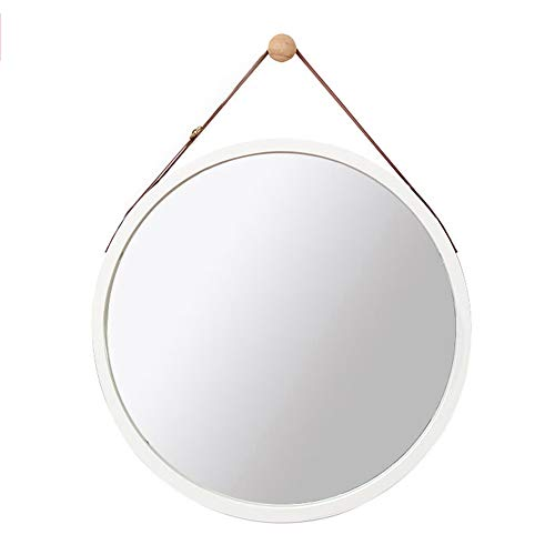 Bathroom mirror Mirror, Round Dressing Table Mirror Sling Hanging Mirror Bedside Porch
