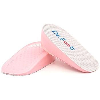 Amazon.com: flexzion zapatos aumento plantilla talón altura ...