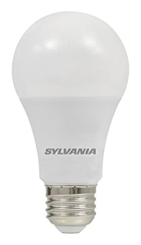 Sylvania Home Lighting 74424 A19 Sylvania Ultra 75W Equivalent LED Light Bulb, Dimmable, Efficient 12W 2700K, Soft (Sylvania 2700k Led)