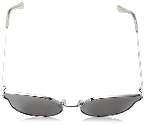 Sunglasses with Gris de Sol South Gafas Mujer Grey 55 Beach Cat Eye Lens para Flash Gradient qzztIO