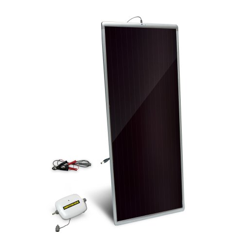 Competition Solar 47701 20-Watt Amorphous Solar Panel with 8 Amp Charge Controller and 12-Volt Battery Charger