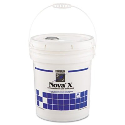 Franklin Cleaning Technology F465226 Nova X Extraordinary UHS Star-Shine Floor Finish, 5gal Pail