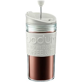 Amazon Com Bodum Bistro Mug Press Personal Coffee And Tea Maker French Presses Coffee Cups
