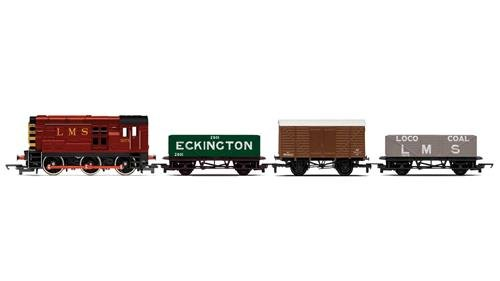 Railroad Diesel Freight Train Pack