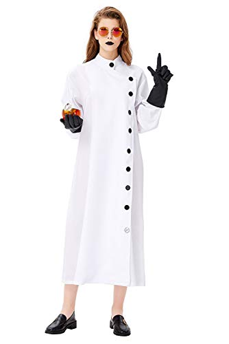 Female Mad Scientist Costumes - Pattistore Halloween Cosplay Mad Scientist Costume