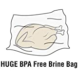 "Heavy Duty BPA Free Brine Bag Made in USA (2 Pack 24""x24"")"