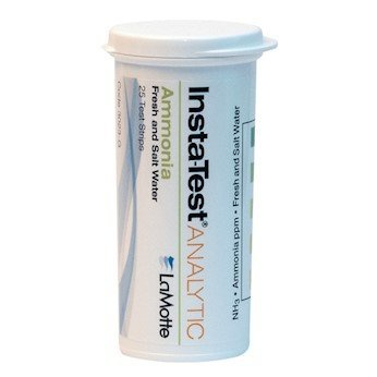 Chloramine Test Strips - LaMotte 3027-G Test Strip, Free and Total Chlorine, 25 Strips