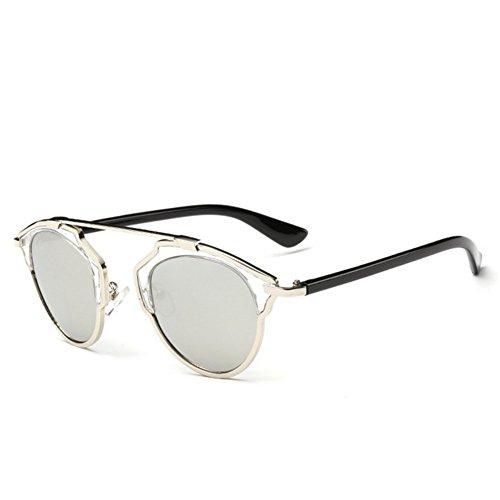 [LuxuryLady-5 Accessory Summer Equipment Fashion Women Leisure Sunglasses(C1)] (Morpheus Costumes Sunglasses)