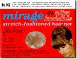Jac-O-Net Mirage Ultra-Invisible Hair Net, Light,2 Net Per Pack [Pack of 12] (Nets Hair Mirage)