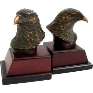 Eagle Head Book Ends (Set of ()
