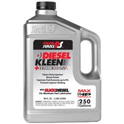 Power Service 03080-06 80 Ounce 03080 +Cetane Boost Diesel Kleen Fuel Additive-80 oz by Power Service
