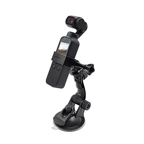 Versatile Suction Cup Mount,STARTRC Car/Outdoor & Indoor Camera Suction Cup Holder Adjustable Mount for DJI OSMO Pocket Adjustable Mount Bracket