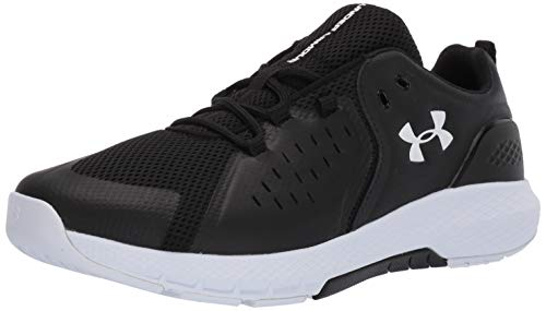 Under Armour Men's Charged Commit TR 2.0 Cross Trainer, Black (001)/White, 11