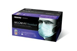 Crosstex Securefit Procedural Mask Gcppksf by Crosstex International