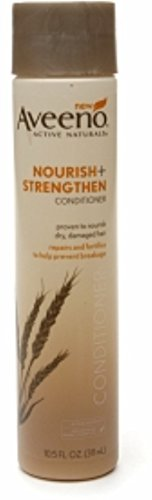 Price comparison product image Aveeno Nourish Plus Strengthen Conditioner,  10.5 Fluid Ounce - 12 per case.
