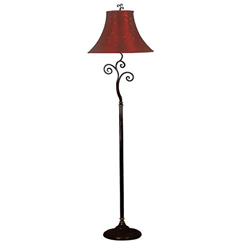 Ramone Bronze Finished Floor Lamp with E - 61