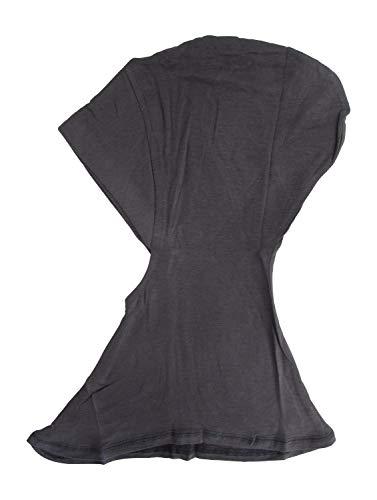 Ninja Cotton Jersey Inner Neck Under Scarf for Hijabs Steel Gray