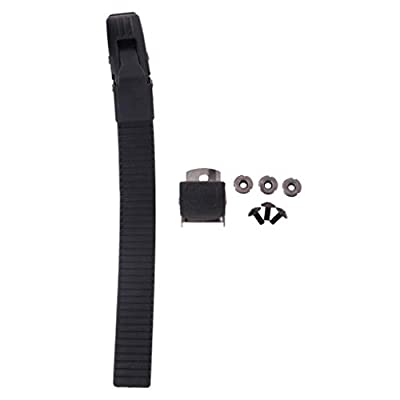 Baosity Inline Skate Strap Buckle with Clamp Screws Nuts Replacement Parts 22x2cm: Toys & Games