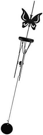 Fenteer 風チャイム ウィンドベル ペンダント 金属線 ホーム 庭 デコレーション - バタフライ