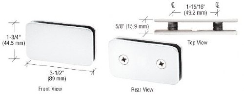 Double Stud Glass Clamp - 8