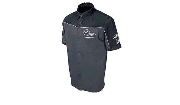SHIMANO Camisa mecanica Techlab Negra/Gris L: Amazon.es: Deportes y aire libre