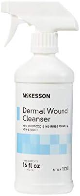 McKesson Wound Cleanser 8 oz. NonSterile Spray Bottle 6 per Case 1719