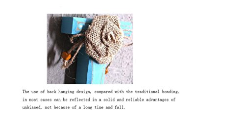 Beauqueen Stile rurale Woody Lettera Decorazione parete Hook Up Home Abbigliamento comprare online di decorazioni murali vestiti e cappelli decorazione della parete Ganci