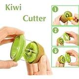 GosFrid Kiwi fruit cutter slicer peeler artifact fruit cutter tools zesters stainless fruit corers