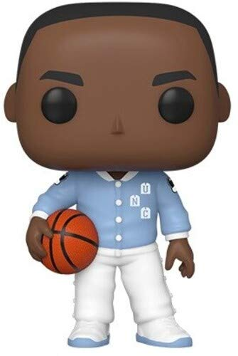 Funko 46803 Pop Baloncesto UNC-Michael Jordan (Warm Ups) Juguete Coleccionable, Multicolor