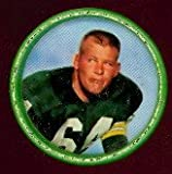1962 salada tea coins (Football) Card# 20 Jerry Kramer of the Green Bay Packers ExMt Condition