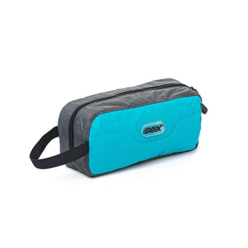 GOX Travel Toiletry Bag Ultra-Light Cosmetic Bag Large-Capacity Portable Makeup Pouch(Turquoise)