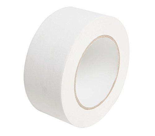 New(White):Professional Grade Gaffers Tape 2×30 Yards 11 mils Water-Proof for pro Photography, Filming Backdrop, Production Equipment, Easy to Tear Non-Reflective and Leaves No Sticky Residue.