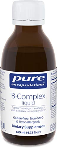(Pure Encapsulations - B-Complex Liquid - B Vitamins to Support Energy Metabolism and a Healthy Nervous System* - 140 ml (4.73 fl oz))