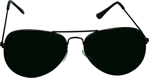 79df8845c0bc Image Unavailable. Image not available for. Colour  YOLO Black Aviator  Unisex Sunglasses (YL-001)