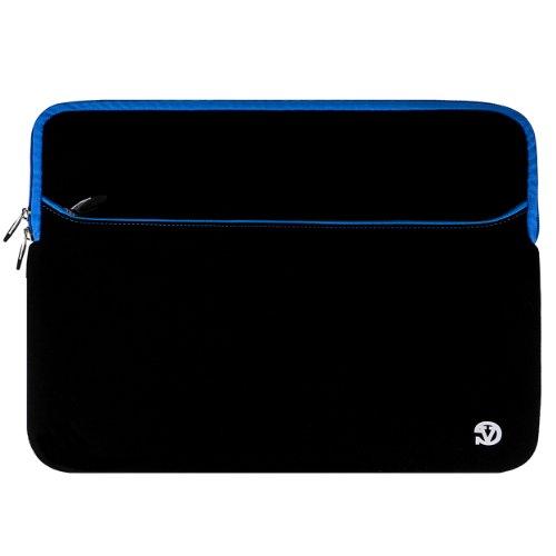 Microsoft Surface Book/Dell Latitude 12/Apple iPad Pro 11/Acer Aspire Switch 12 S Black-Blue VanGoddy Neoprene Tablet...