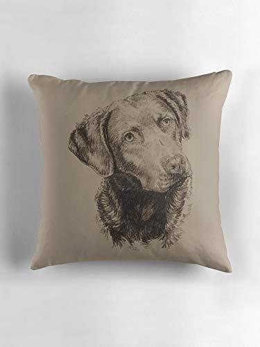 Chesapeake Bay Retriever Pillow Covers Throw Pillow Case Daily Decorations Sofa Throw Pillow Case Cushion Covers Zippered Pillowcase 18