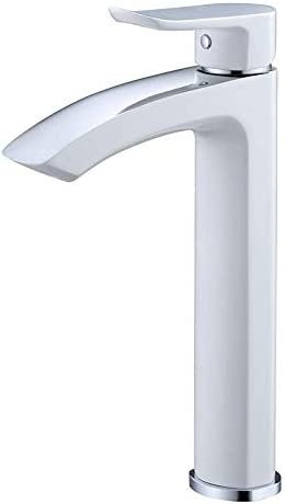ZJN-JN 蛇口 バスルームシンクは、開平市単穴ホットとコールド銅高レベルの混合水洗面台スロット付き浴室の洗面台のシンクホットコールドタップブラック流域単穴の蛇口洗面の蛇口広場をタップ 台付