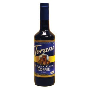 TORANI SF COFFEE, CS 12/750ML, 03-0671 (TORANI) R TORRE AND CO TORANI 750ML by Torani Classic Flavored Syrups