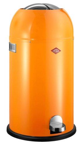 Wesco Kickboy Prijs.Wesco Kickmaster Powder Coated Steel Waste Bin 33 Litre Orange