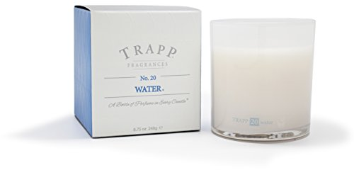Trapp Ambiance Collection No  20 Water Poured Scented Candle  8 75 Ounces
