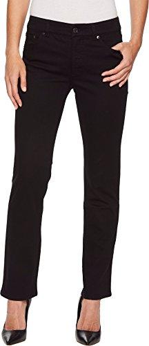 Lauren by Ralph Lauren Women's Premier Straight Jeans Black 16 - Ralph 16 Lauren Size