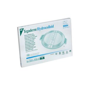 ''Tegaderm Hydrocolloid Dressing with Outer Clear Adhesive 6-3/4'''' x 8'''' Oval'' by 3M