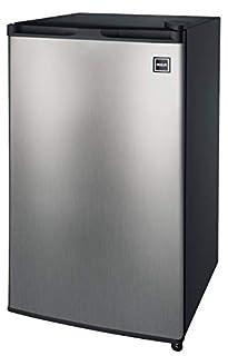 RCA 3.2 Cu Ft Compact Fridge, Mini Refrigerator, Stainless Steel (B00IR8H55A) | Amazon price tracker / tracking, Amazon price history charts, Amazon price watches, Amazon price drop alerts