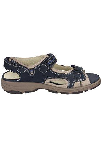 Waldläufer Damen Sandale Blau