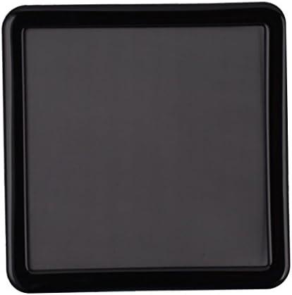 watersouprty 10PCS 120MM PVC Fan Dust Filter PC Dustproof Case Cuttable Computer Mesh Cover Black Accessories