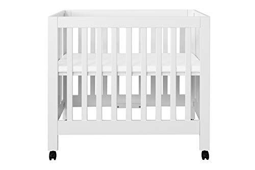 Babyletto Origami Mini Crib, White