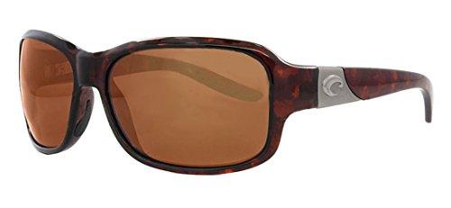 Costa Del Mar Inlet Sunglass, Tortoise, Copper - Del Mar Costa Isabela Sunglasses