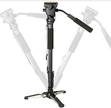Camera Monopod Kit Telescopic Video Monopods Aluminum Alloy Stand for DSLR Video Cameras Camcorders SirMo Extendable Camera Monopod