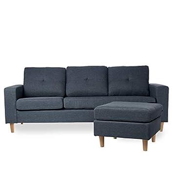 Sofá chaise longue domay: Amazon.es: Hogar