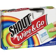 Shout Wipe & Go Instant Stain Remover (Pack of 4)